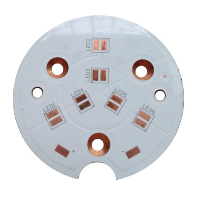 1.2mm Copper OSP Copper PCB for Gold Plating for light