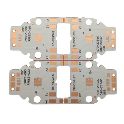 1.6mm Copper HASL Copper PCB for car lighting