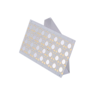 4mm board thickness FR-4 gold-plating aluminum pcb for room light