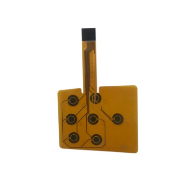 0.12mm Polymide Immersion Gold FPC for secuirity communications