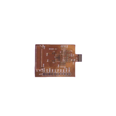 0.12mm Polyester Immersion Gold FPC for telecommunication
