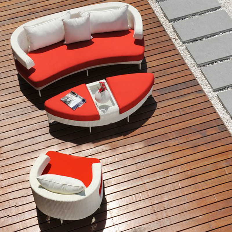 HXL-301 藤制户外沙发 茶几 休闲沙发