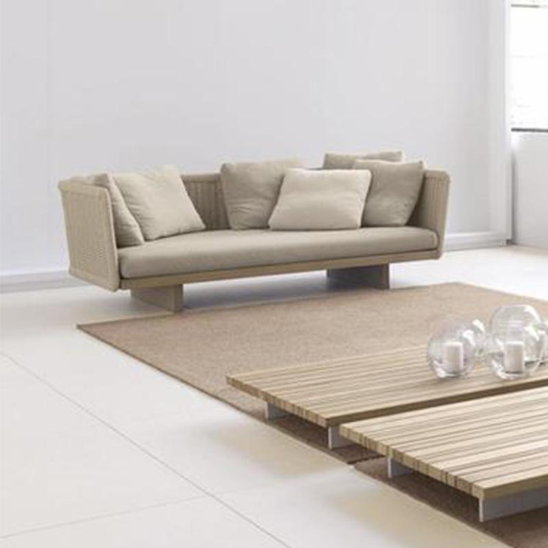 HXL-S055戶外柚木沙發多種組合沙發