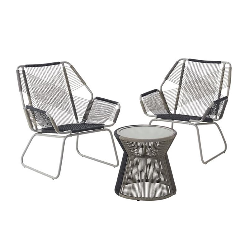 HXL-S056户外编绳椅子茶几休闲椅子