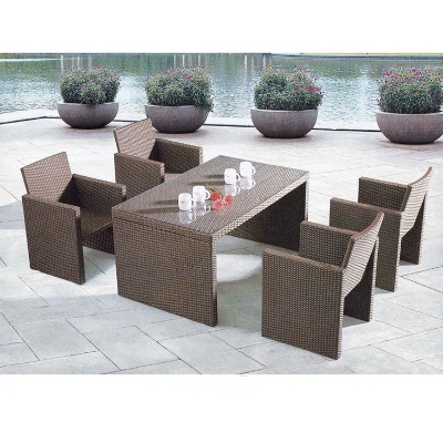 HXL-Z070户外餐桌餐椅组合休闲桌子