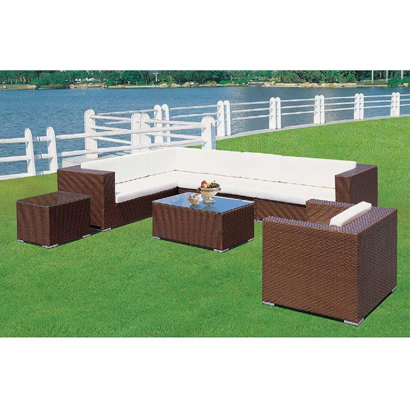 HXL-S004沙发组合休闲户外沙发 单人位三人位