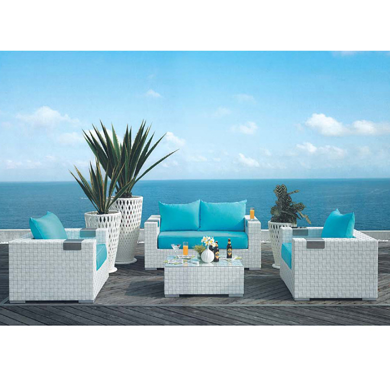 HXL-S009户外庭院沙发组合休闲沙发阳台沙发