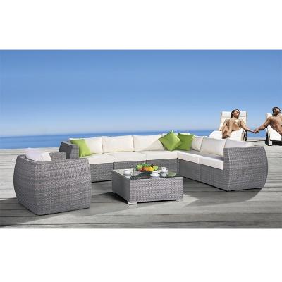 HXL-S018沙发休闲单人位庭院沙发组合