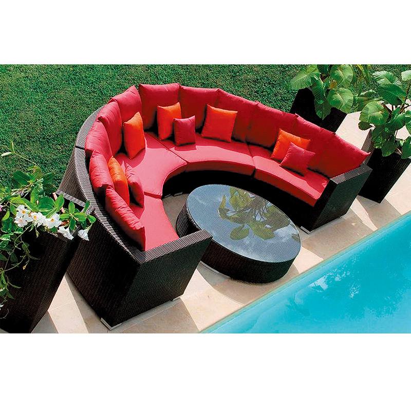 HXL-S019户外圆形沙发休闲组合沙发