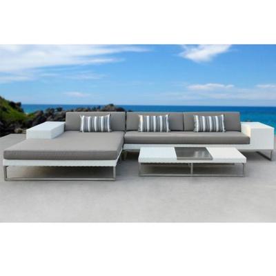 HXL-S032户外铝制沙发休闲阳台沙发