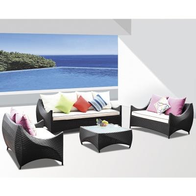 HXL-S038户外沙发休闲组合阳台编藤庭院沙发单人位三人位