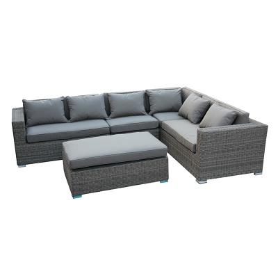 HXL-S044休闲沙发户外编藤沙发庭院转角沙发