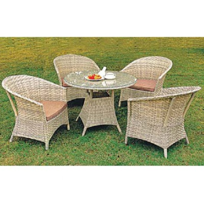 HXL-Z074餐桌餐椅休闲庭院桌椅打牌桌子