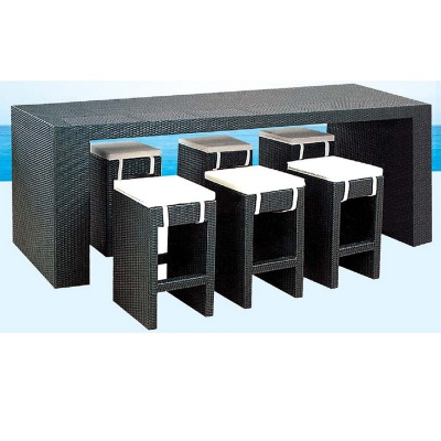 HXL-Z081吧台吧椅组合户外休闲餐桌椅组合