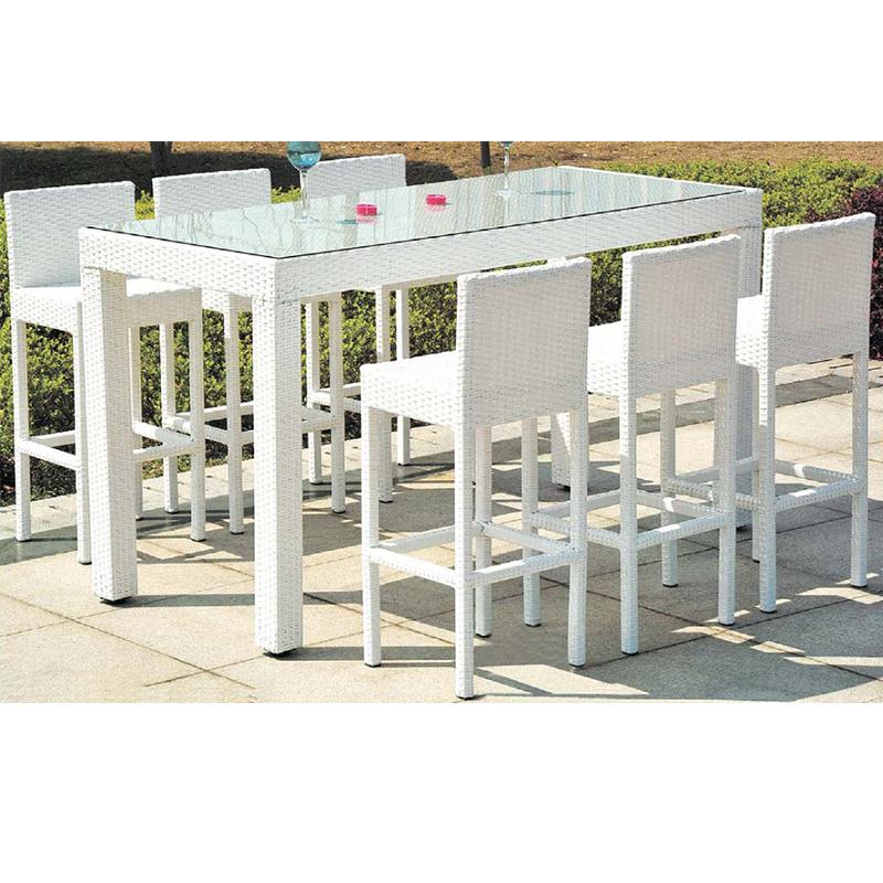 HXL-Z082吧台吧椅休闲户外聚会桌子
