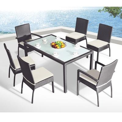 HXL-Z091餐桌餐椅休闲户外组合沙滩椅子