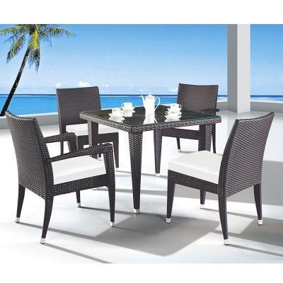HXL-Z092餐桌餐椅户外休闲桌子庭院桌子