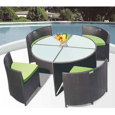 HXL-Z094餐桌餐椅休闲庭院椅子桌子组合