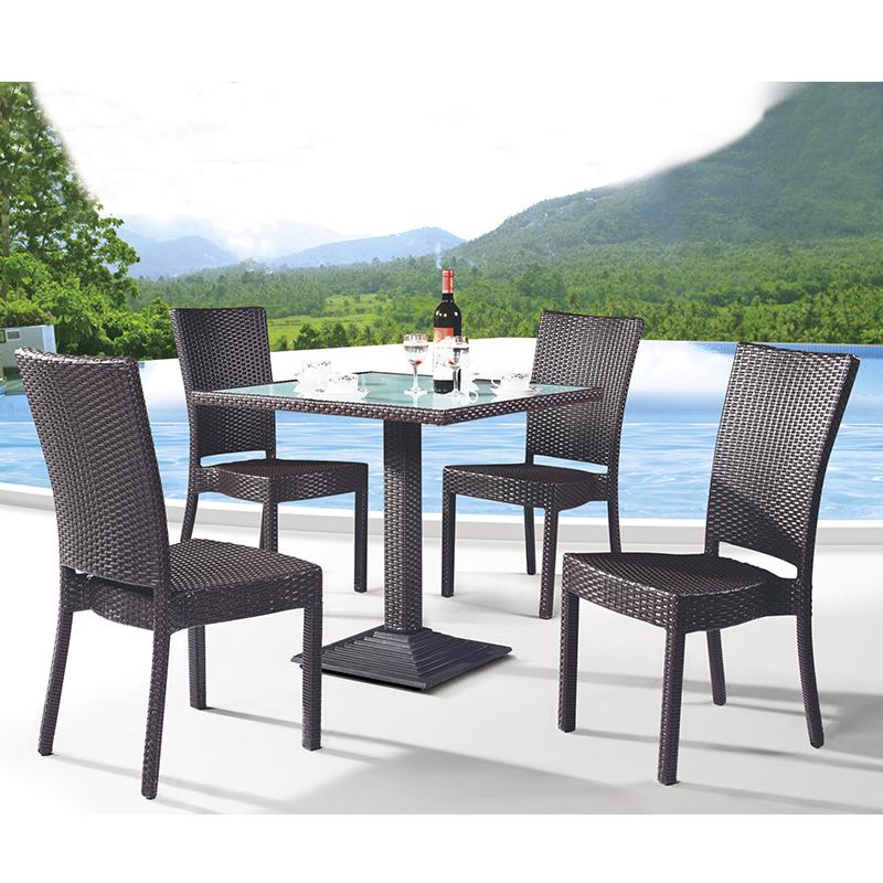 HXL-Z095餐桌餐椅沙滩椅酒店餐桌椅组合