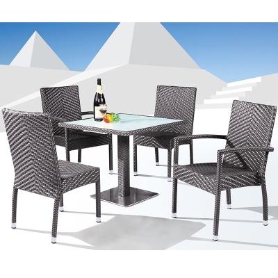 HXL-Z096餐桌餐椅休闲酒店餐桌椅组合户外阳台椅子