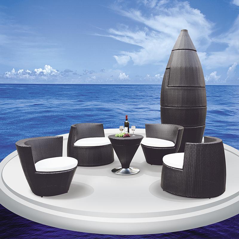 HXL-Z098餐桌餐椅户外休闲沙特椅子桌子组合