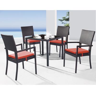 HXL-Z101餐桌餐椅组合休闲椅子户外沙滩酒店椅子桌子组合