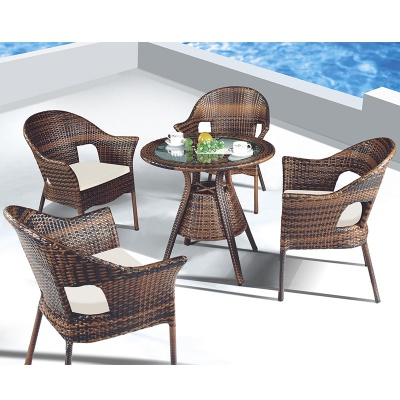 HXL-Z103餐桌餐椅组合沙滩酒店桌子