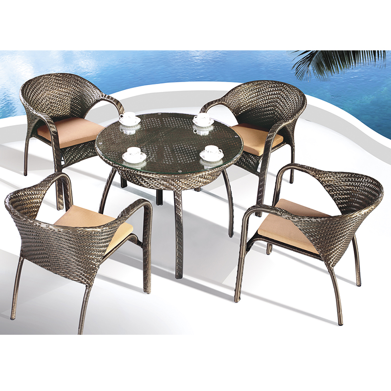 HXL-Z104餐桌餐椅组合休闲户外酒店桌子