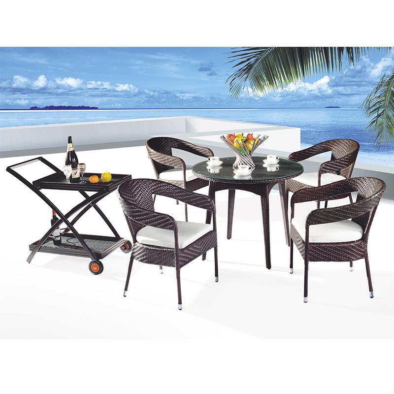 HXL-Z105餐桌餐椅休闲户外椅子桌子组合