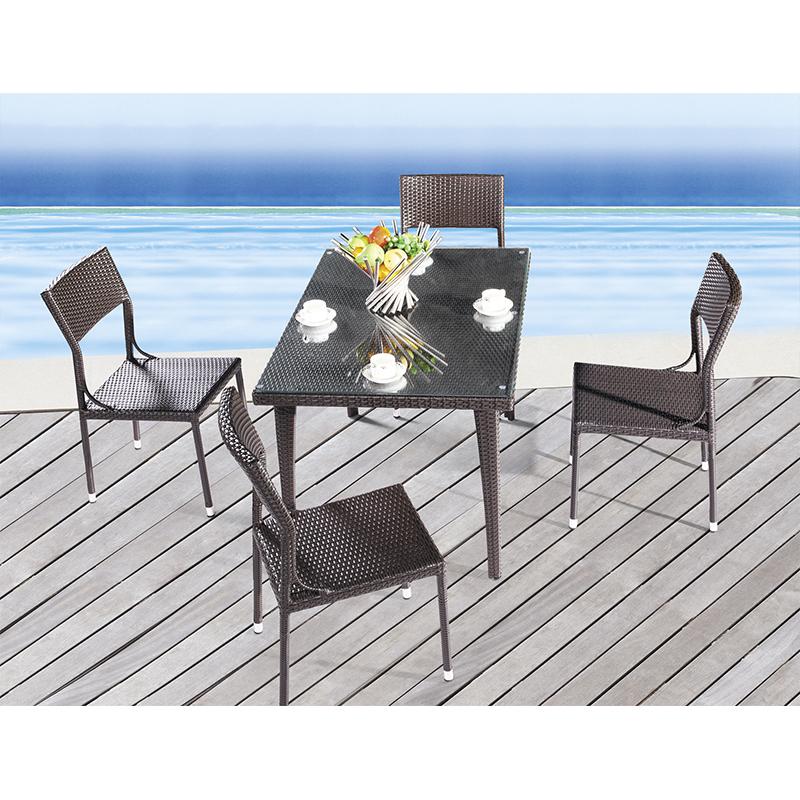 HXL-Z106餐桌餐椅酒店椅子组合庭院桌子