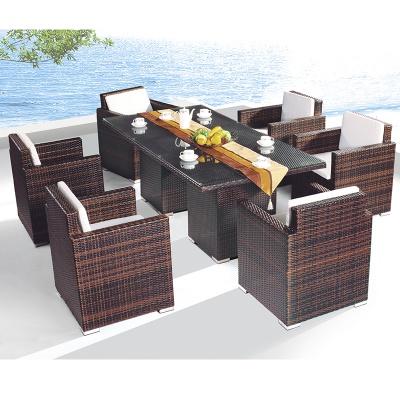 HXL-Z107餐桌餐椅休闲组合户外酒店餐桌