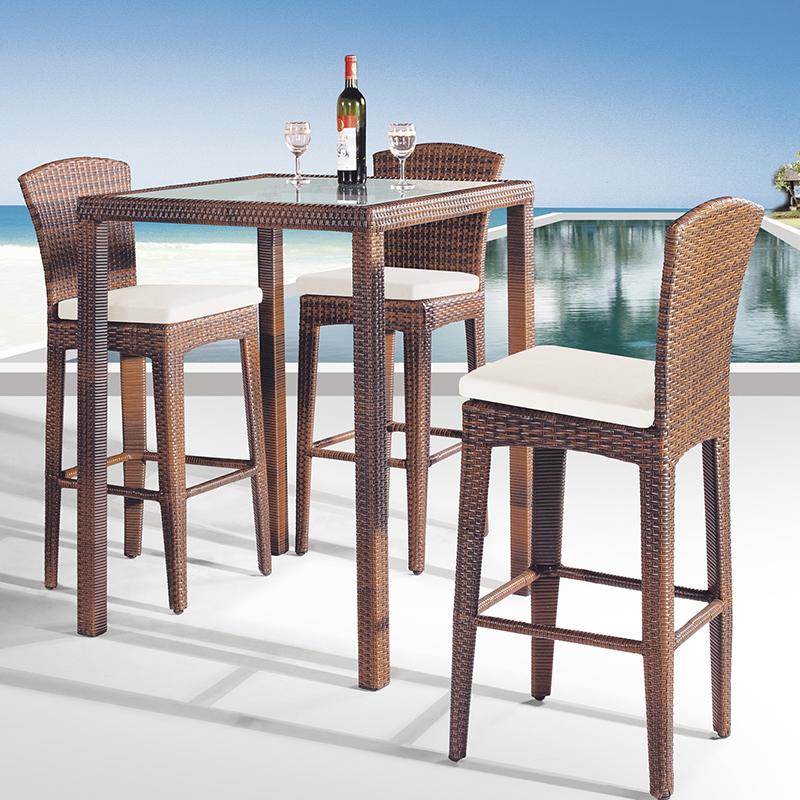 MG-Z03吧台吧椅組合休閑沙灘戶外喝酒桌子