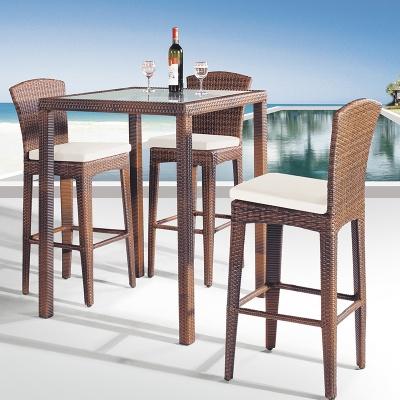 MG-Z03吧台吧椅组合休闲沙滩户外喝酒桌子