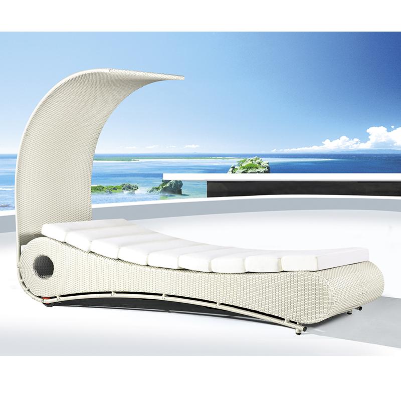 HXL-T125户外躺床海边日光床