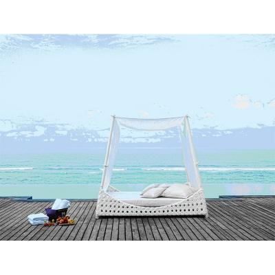 HXL-T129户外躺床阳台庭院秋千床