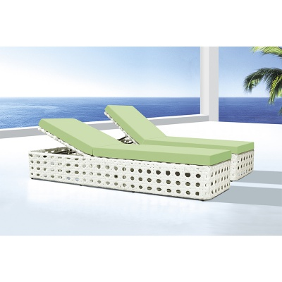 HXL-T136户外躺床沙滩藤椅躺床