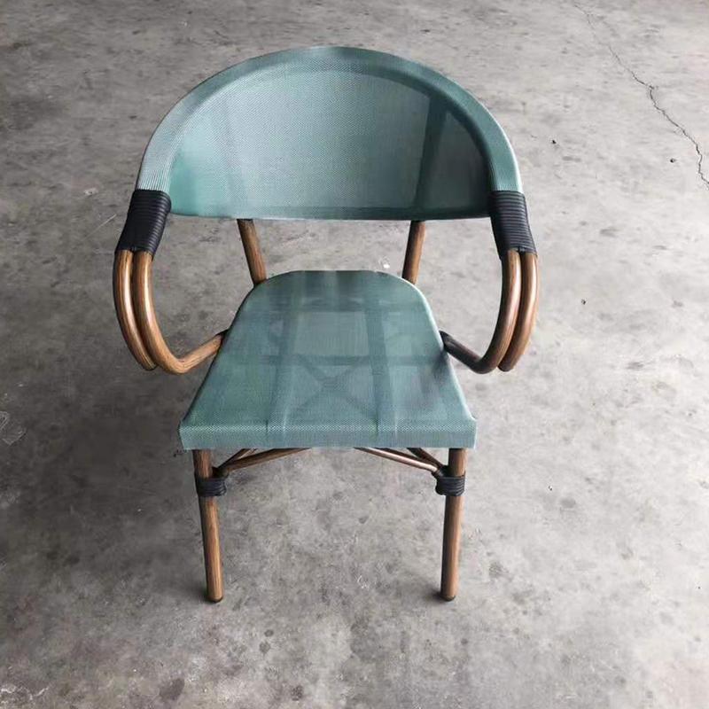 MG-Y10竹节椅户外休闲餐椅椅子