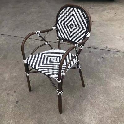 MG-Y12竹节椅休闲编花竹节椅户外餐椅
