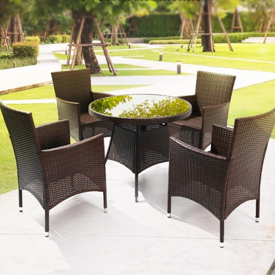 MG-Z10户外藤编桌椅庭院花园休闲家具