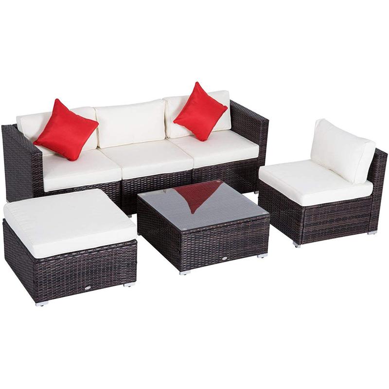 MG-SA04编藤沙发组合户外休闲沙发