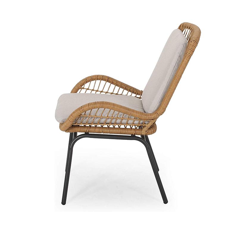 MG-ZY01休闲椅子户外洽谈编绳椅子