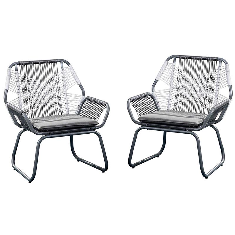 MG-ZY03休闲椅子户外编绳餐椅