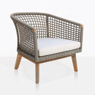 MG-ZY17休闲椅子户外餐椅编绳椅子