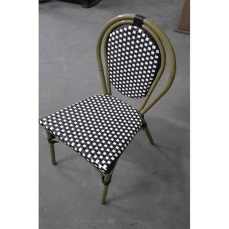HXL-188椅子休闲竹节椅户外餐厅椅子