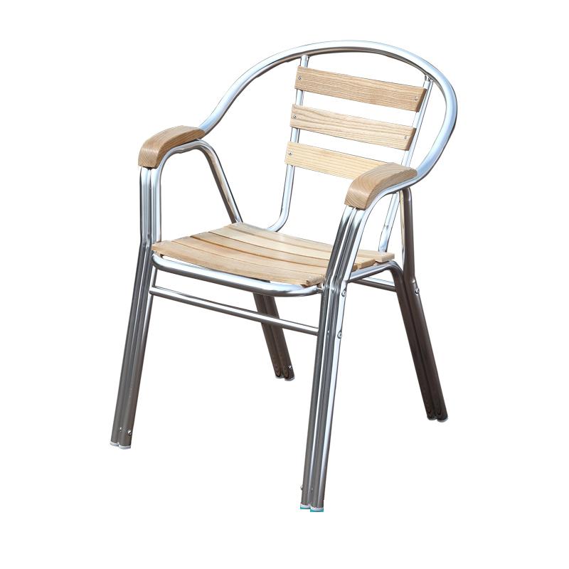 HXL-189椅子休闲铝架椅子户外餐厅椅子