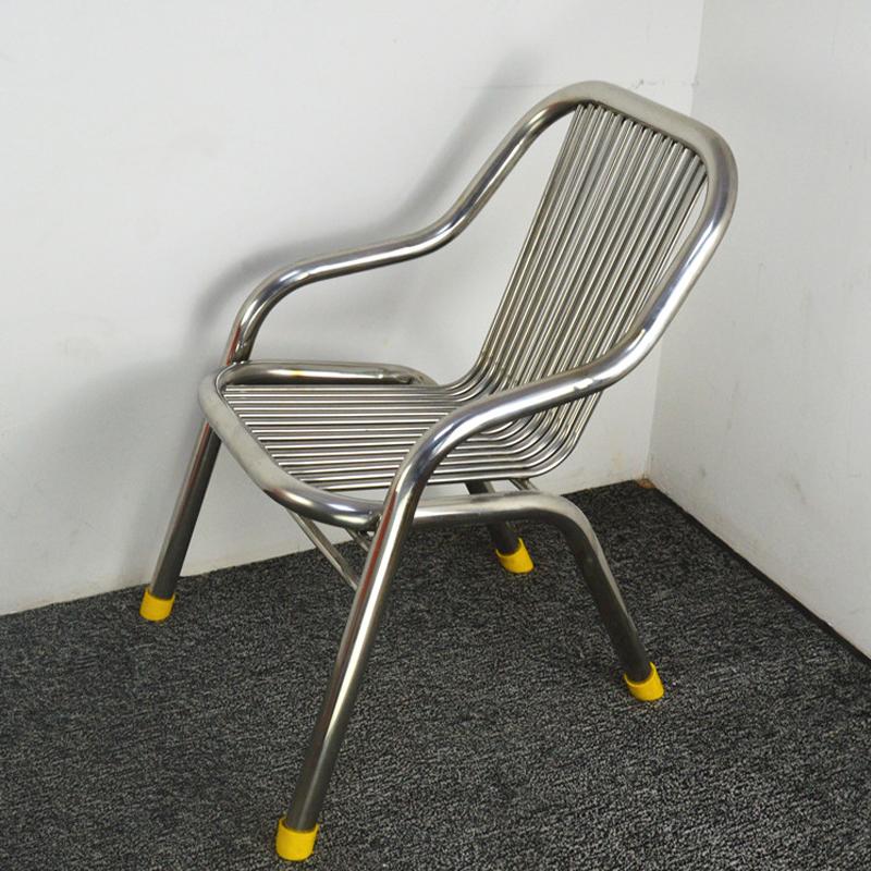 HXL-196椅子不锈钢椅子休闲户外铝合金椅子