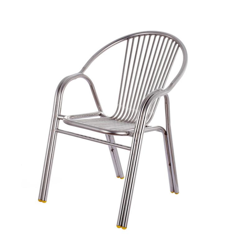 HXL-197椅子休闲餐厅椅子不锈钢椅子
