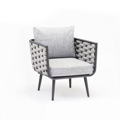 MG-S01 编绳沙发套装户外室内高档沙发