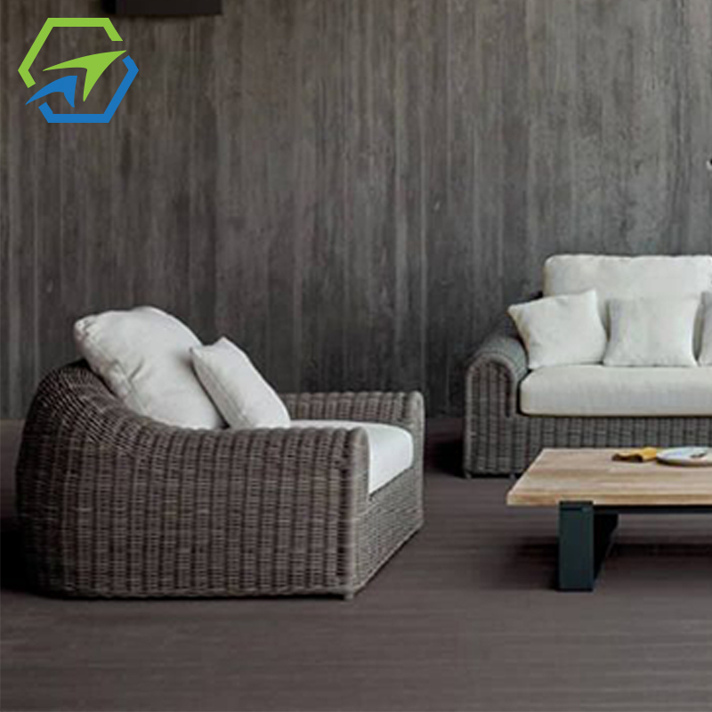 MG-S03 沙发套装 户外编藤超大圆藤沙发