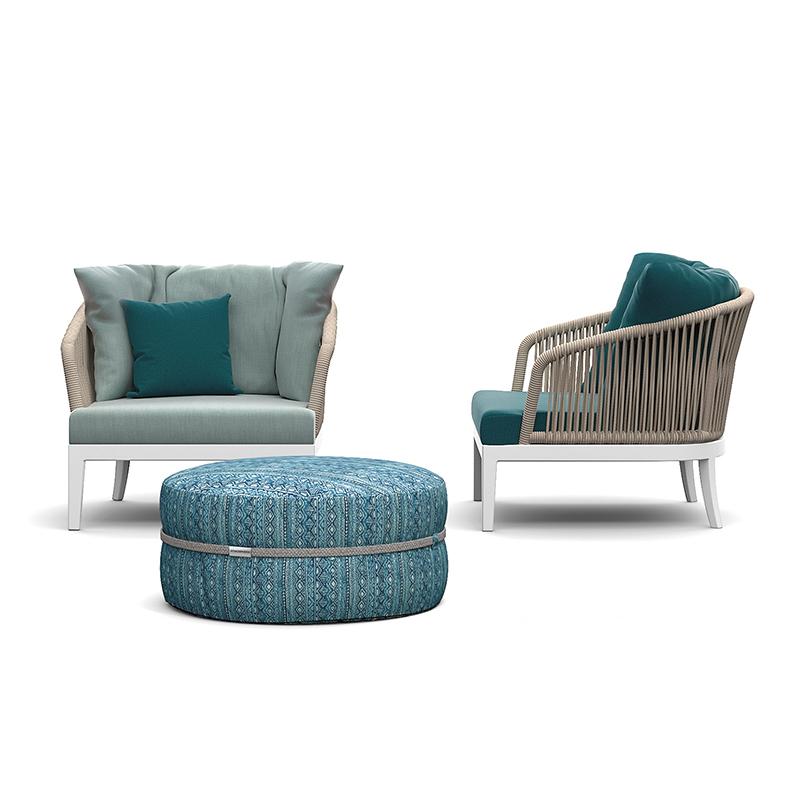 MG-AT04沙发新款设计师编绳户外沙发